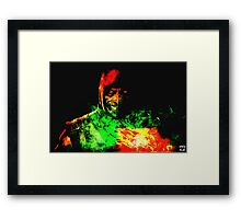 Immortal Kombat Framed Print