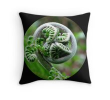 Baby Fern Throw Pillow