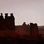 The Three Gossips, Utah by Christine Till  @    CT-Graphics