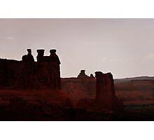 The Three Gossips, Utah Photographic Print