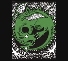 Dragon Sleep T Shirt  Kids Tee
