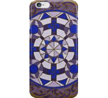 Medieval Viking Brooch iPhone Case/Skin