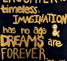 Walt Disney Dreams by tiedyedsmiles