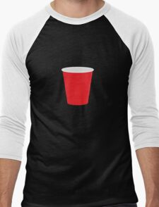 Red Solo Cup Men's Baseball ¾ T-Shirt