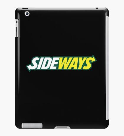 SIDEWAYS iPad Case/Skin