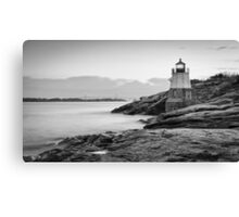 Castle Hill Lighthouse at Sunrise Canvas Print