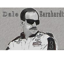 DEDICATION TO DALE EARNHARDT SR. (INTIMIDATOR) NASCAR  Photographic Print