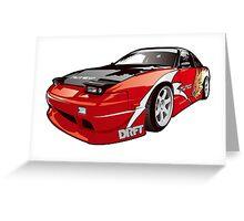 Drift 240sx Greeting Card