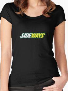 SIDEWAYS Women's Fitted Scoop T-Shirt