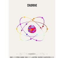 Chlorine - Element Art Photographic Print