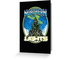Northren Lights Marijuana Strain Art Greeting Card