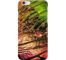 Fall of the Crystal Leaves iPhone Case/Skin
