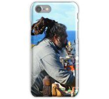 Stall holder, Easter Island iPhone Case/Skin
