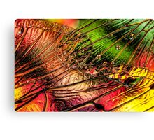 Fall of the Crystal Leaves Canvas Print