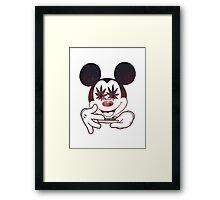 Dope Mickey Framed Print