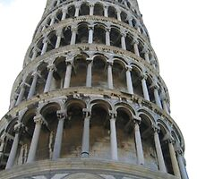 Leaning Tower of Pisa by Rosy Kueng