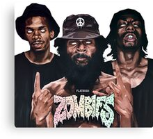 Flatbush Zombies Art Canvas Print