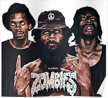 Flatbush Zombies Art Poster