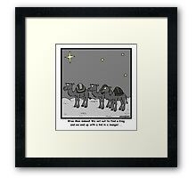 Wise Men Framed Print