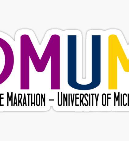 Dance Marathon - University of Michigan Sticker