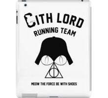 Sith lord running team iPad Case/Skin