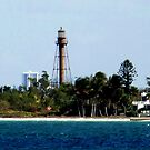 View of Sanibel Island Lighthouse by Virginia N. Fred