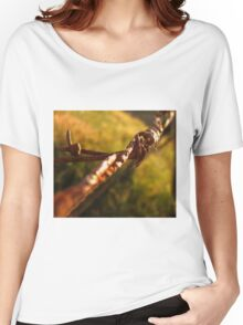 Rusty Barbed Wire Women's Relaxed Fit T-Shirt