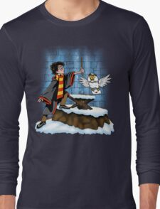 Wand and the Wizard Long Sleeve T-Shirt