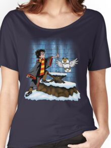 Wand and the Wizard Women's Relaxed Fit T-Shirt