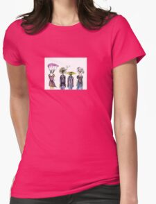 Flower People Womens Fitted T-Shirt