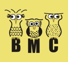 BMC Owls - Yellow Kids Clothes