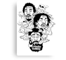 Flatbush Zombies - Better Off Dead Canvas Print