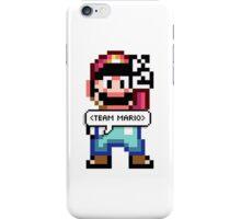 TEAM MARIO iPhone Case/Skin
