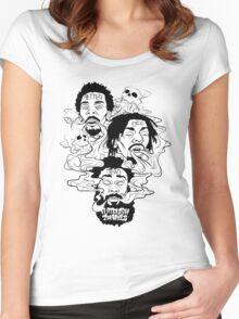 Flatbush Zombies - Better Off Dead Women's Fitted Scoop T-Shirt