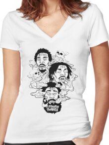 Flatbush Zombies - Better Off Dead Women's Fitted V-Neck T-Shirt