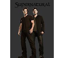 The Winchester Bros [SPN] Photographic Print
