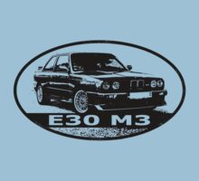 The original M3 (black) Baby Tee