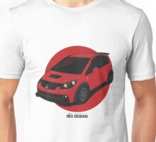 "Mitsubishi Colt Ralliart ""Rising Sun"" Unisex T-Shirt"