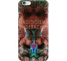 Indigosim by The Underachievers  iPhone Case/Skin
