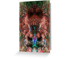 Indigosim by The Underachievers  Greeting Card