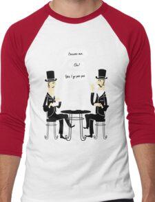 Oui Oui Tea Time Men's Baseball ¾ T-Shirt