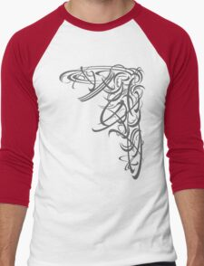 Figurative II Men's Baseball ¾ T-Shirt