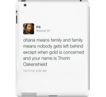 Fili - Tweets iPad Case/Skin