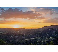 hollywood hills Photographic Print