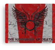 The Harbinger of Death, BSG Canvas Print