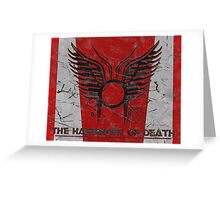 The Harbinger of Death, BSG Greeting Card