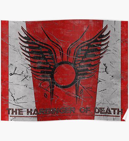 The Harbinger of Death, BSG Poster