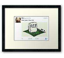 Fili - Tweets Framed Print