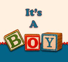 It's a Boy by Sheryl Kasper