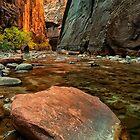 The Narrows in Utah by KellyHeaton